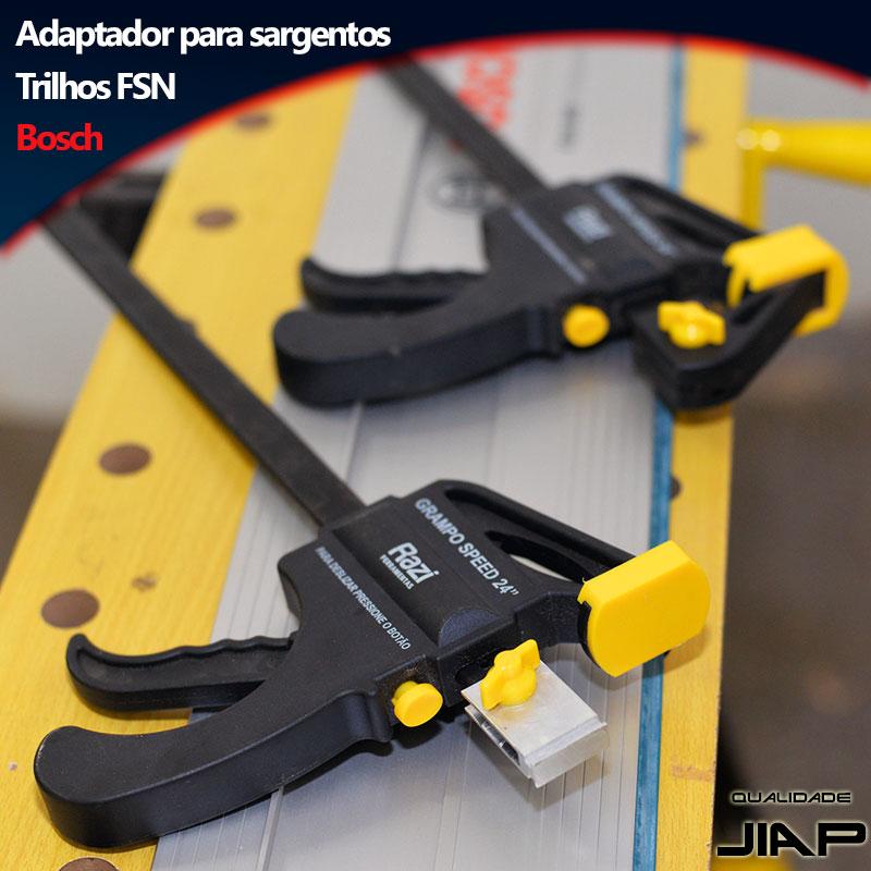 Adaptador de grampo rápido para trilhos Bosch